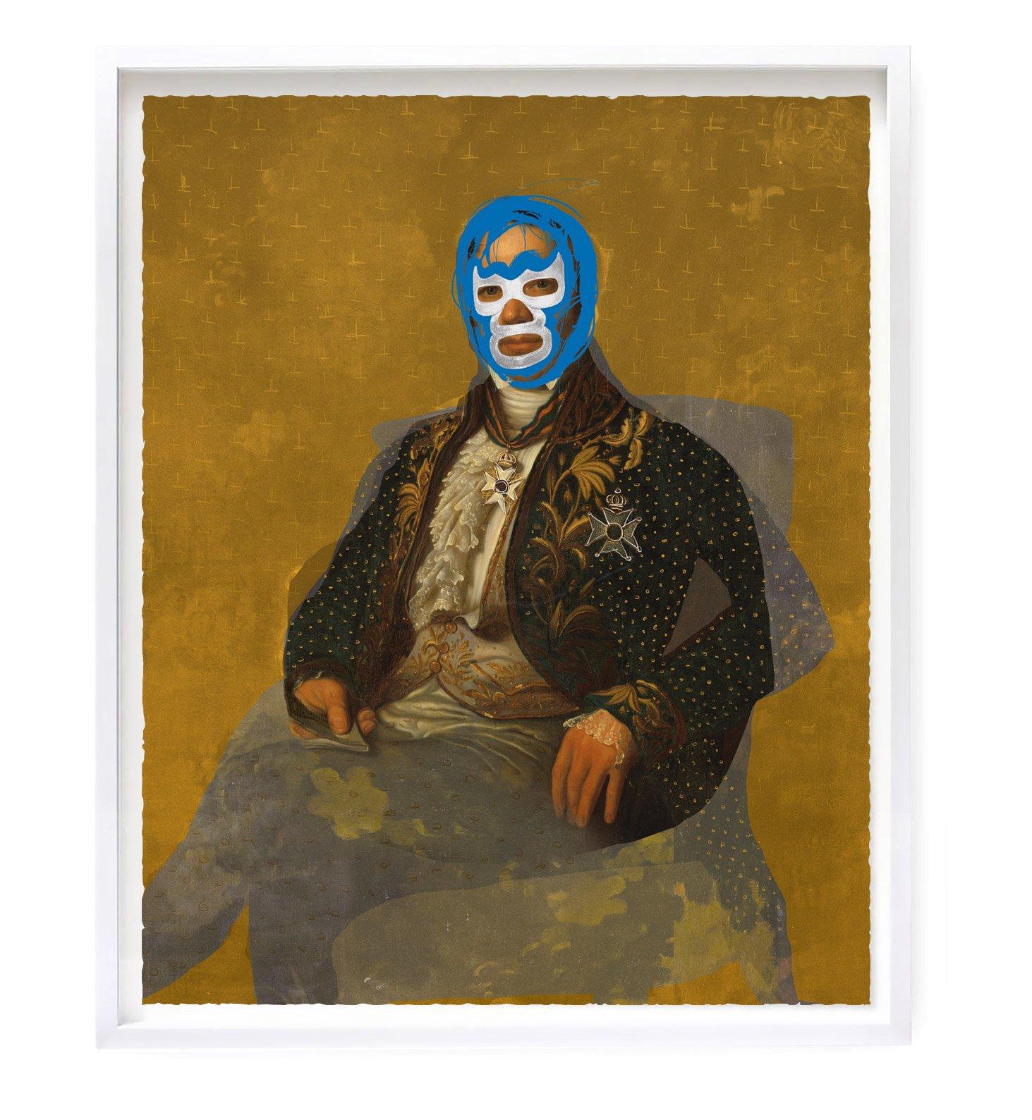Jean Baud - Portrait Of Heroes: Jean Baud by Heath Kane