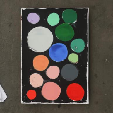 Colour Circles By Katy Binks